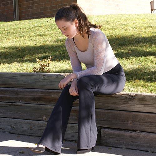 5c8086f46f Victoria's Challenge Tall Women Tummy Control Slimming Shaping Black Flare Yoga  Pants VC8F