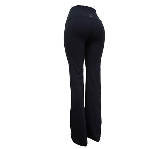 912787942a Victoria's Challenge Linen-Look-Lycra Tall Women Mid-Rise Yoga Flare Dress  Pants ...